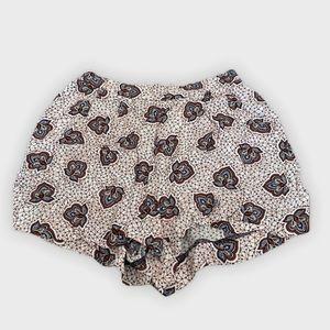 Flowy print shorts